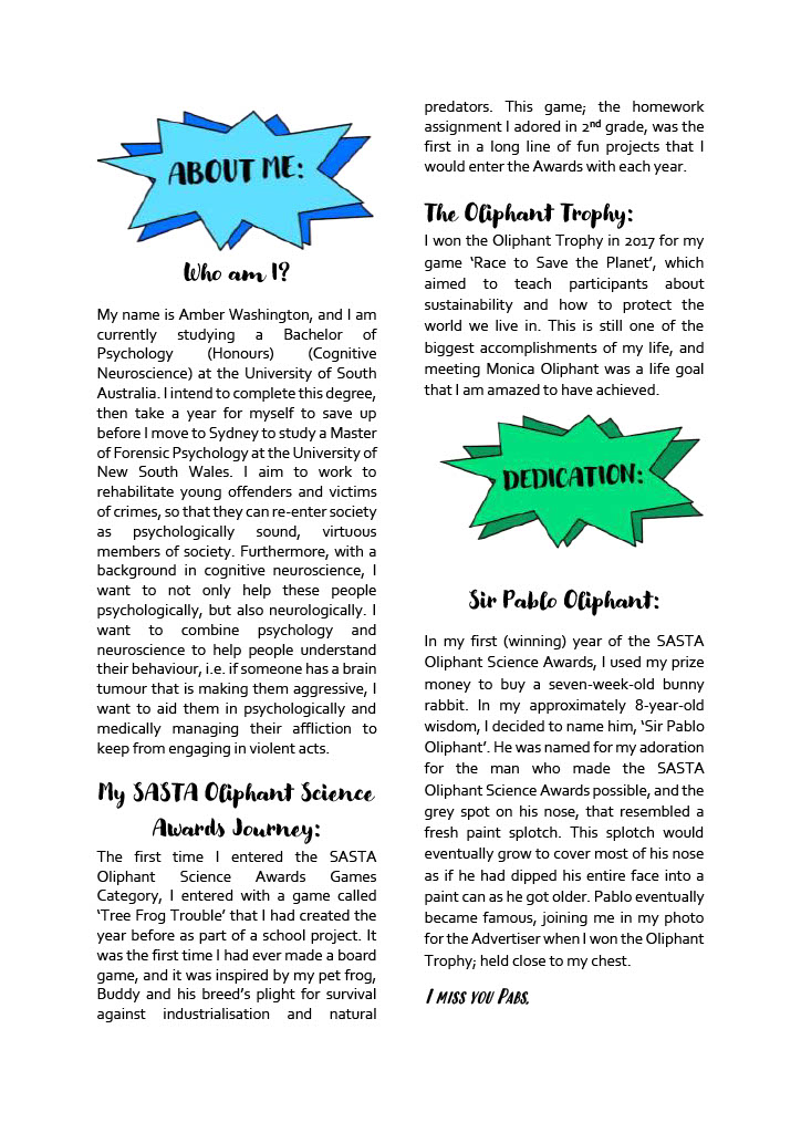 Page4_How to CRUISE Through the SASTA Oliphant Awards